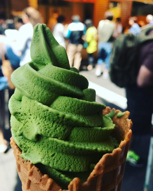 matcha-soft-serve