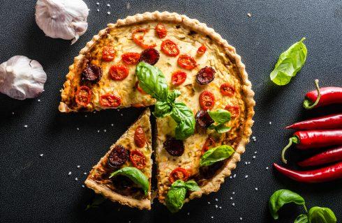 Quiche di pomodorini: facile e gustosa