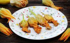 4 modi di intendere il fiore di zucca fritto