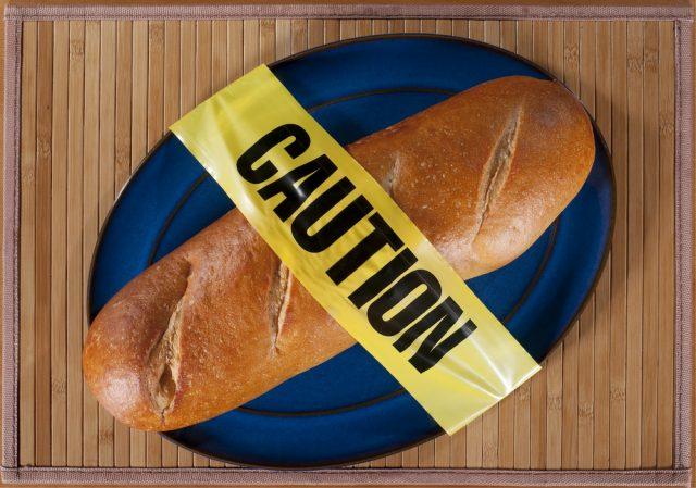 pane attenzione al glutine