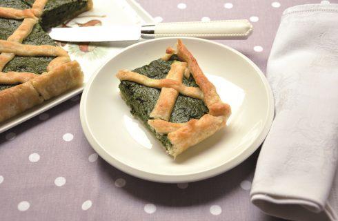 Torta salata ricotta e spinaci: con il bimby