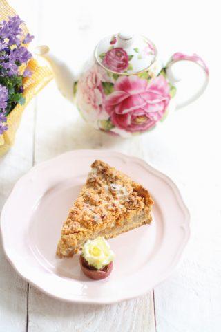 Torta sbrisolona alle mele: con il bimby