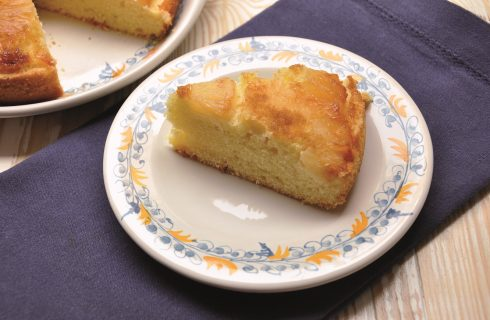 Torta soffice all'ananas: con il bimby