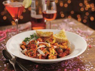Tortellini con ricotta e spinaci al sugo: con il bimby