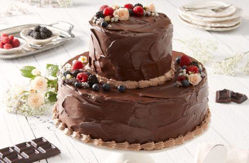 La wedding cake al cioccolato ispirata al matrimonio di Harry e Meghan