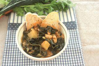 Zuppa di cavolo nero toscana: con il bimby