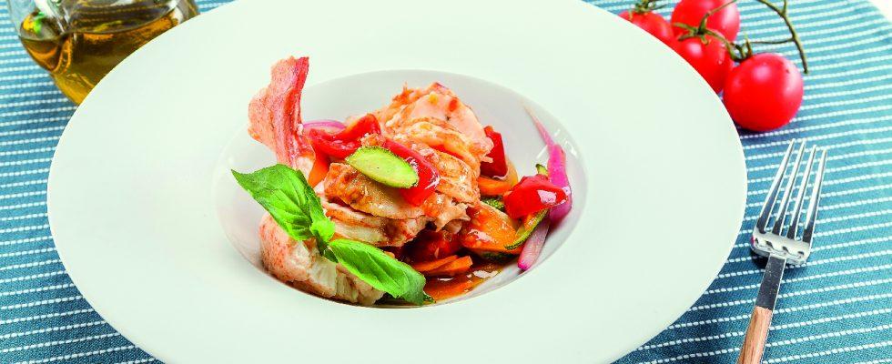 Astice alla catalana al barbecue: cucina spagnola