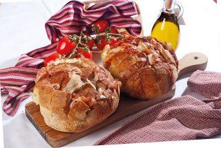 Scrigno di pane mortadella e provolone, un antipasto veloce e sfizioso