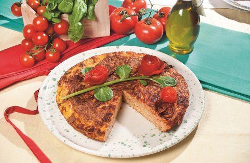 Frittata di vermicelli al sugo di pomodoro, un piatto dalla tradizione napoletana