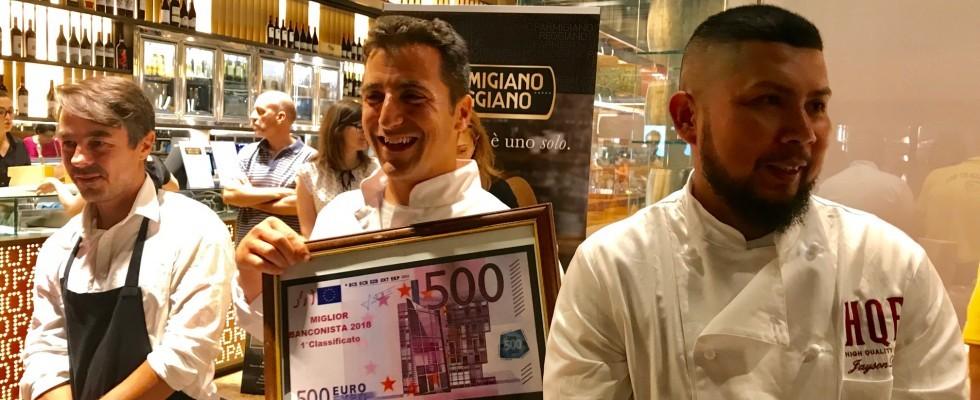 Il Miglior Banconista d'Italia è a Milano