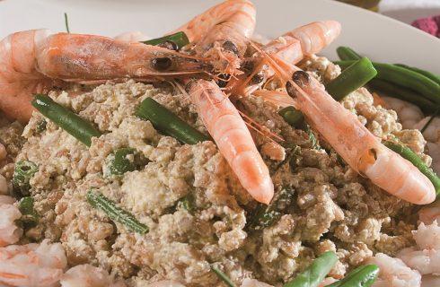 Insalata di farro alla genovese, un primo piatto leggero, ma con gusto