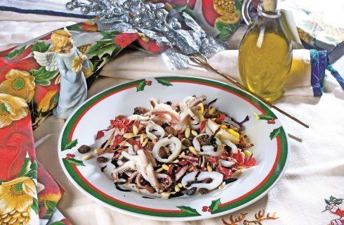 Insalatina di calamari, un antipasto leggero e veloce