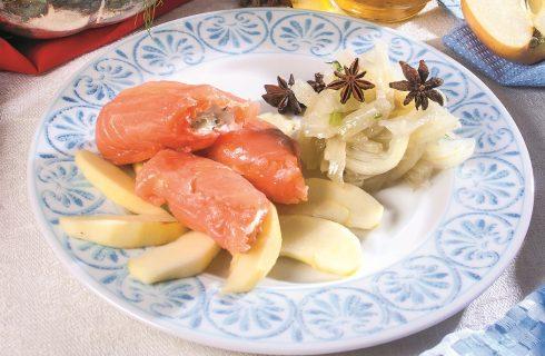 Involtini di salmone con crema di caprino, un secondo piatto sfizioso e invitante