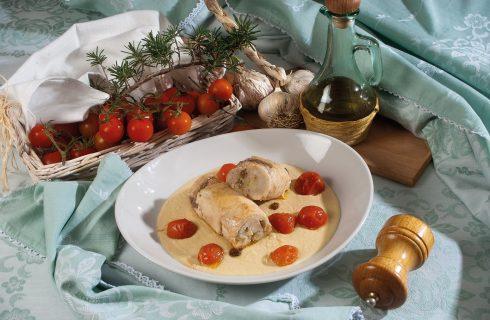 Involtini di spada con caciocavallo, un secondo piatto completo e delicato