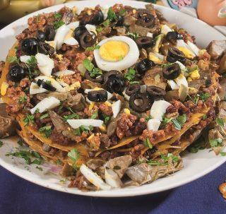 Lasagne con carciofi e ragù di agnello, un primo piatto bello e saporito