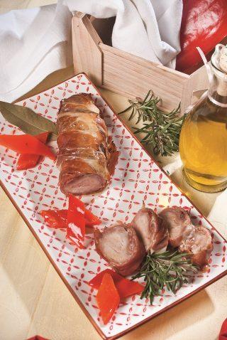 Lombo di coniglio con peperoni in agrodolce, un secondo piatto tenero e succulento