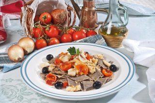 Maltagliati freschi con ragù di trota, un primo piatto leggero e saporito