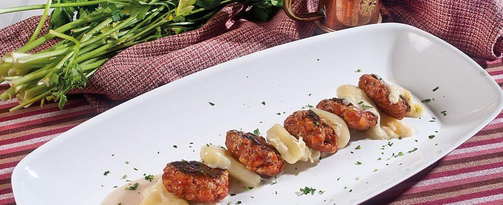 Millefoglie di salsiccia e provolone, un secondo piatto sfizioso