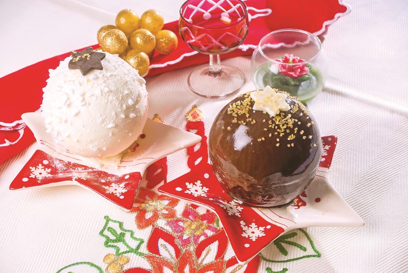 Dolci Palline Di Natale.Ricetta Palle Di Natale Di Meringa E Cioccolato Agrodolce