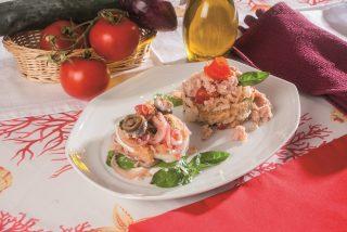 Panzanella con burrata, dalla Toscana alla Puglia