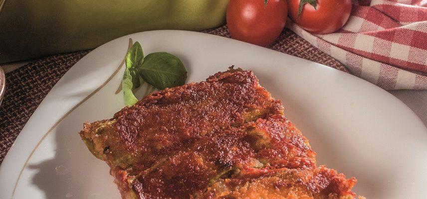 Parmigiana di zucchine alla napoletana, un secondo saporito e nutriente