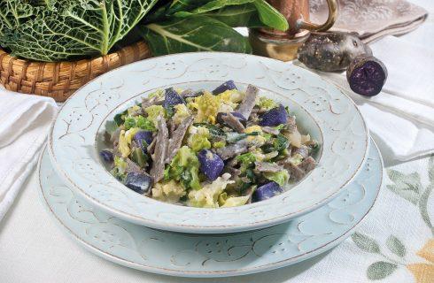 Pizzoccheri light con verdure e crescenza, un primo valtellinese colorato e leggero