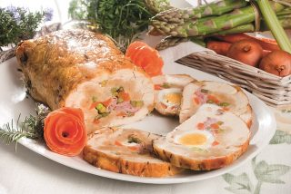 Pollo ripieno primavera, un secondo piatto saporito e sfizioso