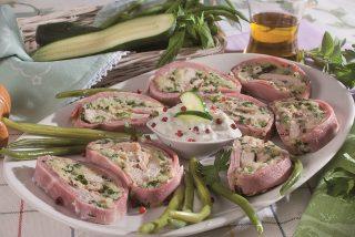 Rollè freddo con salsa tzatziki, un secondo piatto fresco
