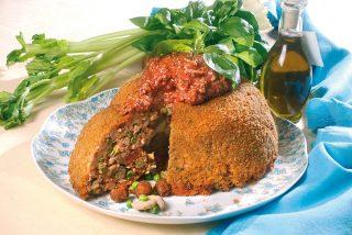 Sartù di riso alla napoletana, un primo fantasioso
