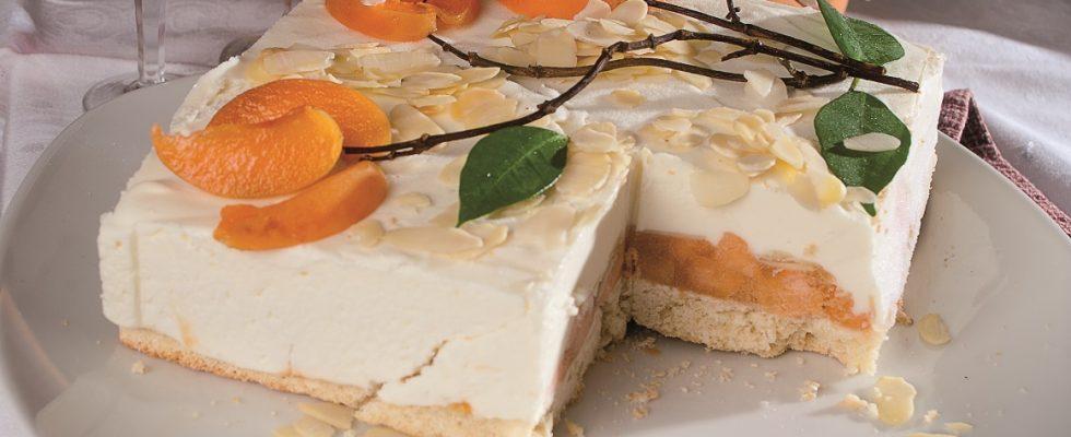 Semifreddo alle albicocche, un dolce delizioso e croccante