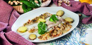 Sogliola al burro di alghe con spinaci e patate, un secondo piatto nutriente e gustoso