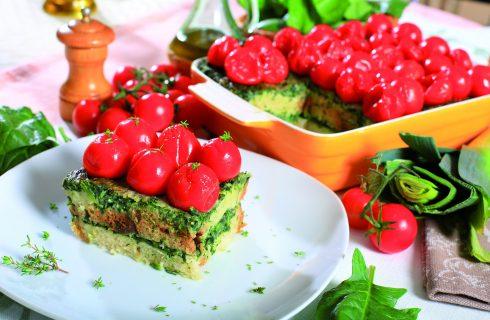 Tiramisù di spinaci, un secondo piatto fantasioso e nutriente