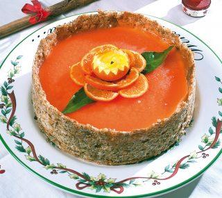 Torta con mandarini al bitter, un dolce elaborato