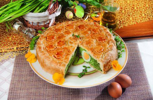 Torta pasqualina veloce, una torta rustica vegetariana e saporita
