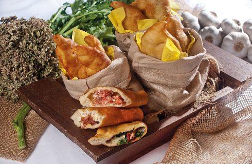 Panzerotto con cime di rapa e burrata, una ricetta dalla tradizione pugliese