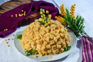 Zuccotto mimosa, un dolce per la festa della donna