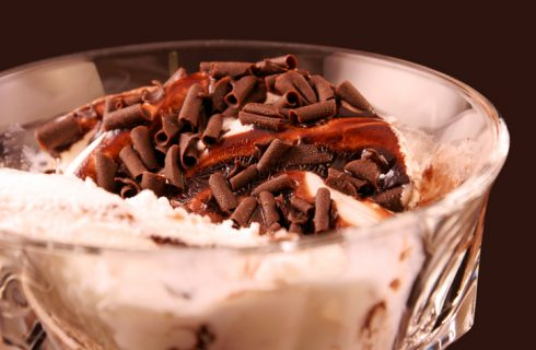 La ricetta dell'affogato al cioccolato fatto in casa