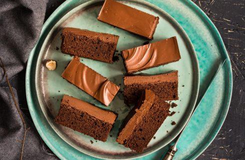 Brownies alla nutella con 3 ingredienti, la ricetta