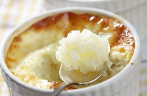 Budino di latte e riso, un dolce al cucchiaio come lo faceva la nonna