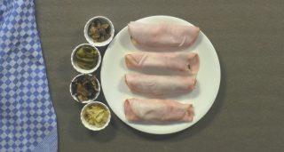 Involtini di prosciutto: antipasto pronto in pochi minuti