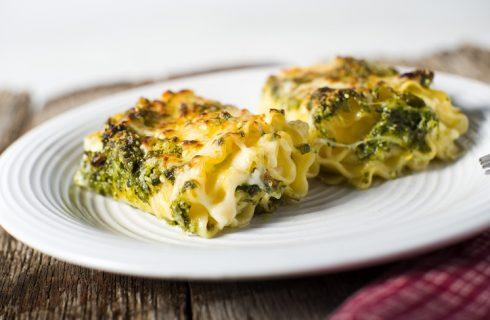 Le lasagne al pesto e ricotta con la ricetta di Cotto e Mangiato