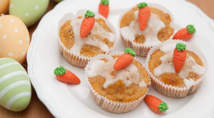 I muffin alle carote con la ricetta di Marco Bianchi