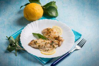 Persico salvia e limone: secondo piatto leggero
