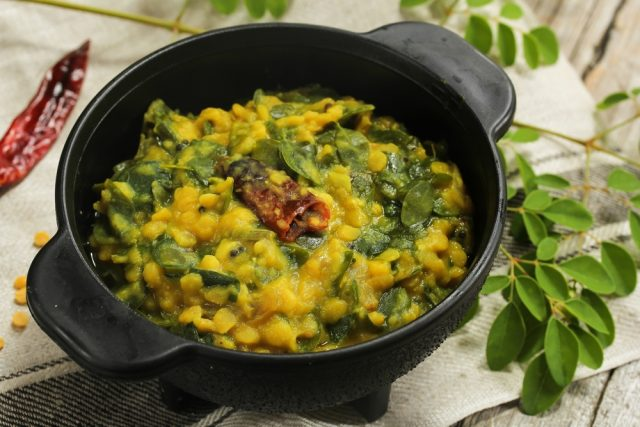 curry alla moringa