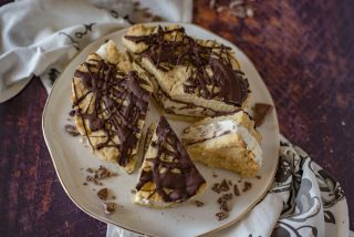 Torta biscotto gelato, goloso dessert