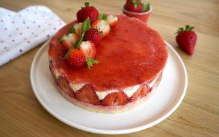 Torta fraizer, cremoso dessert di fine pasto