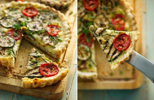 Torta salata con zucchine, ricotta e menta: la ricetta