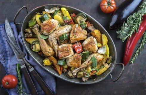 Pollo alla mediterranea, secondo leggero