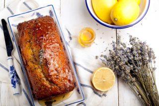 Torta lavanda e limone, dolce profumato