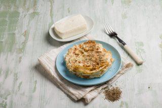 Torta di pane carasau, croccante e leggera